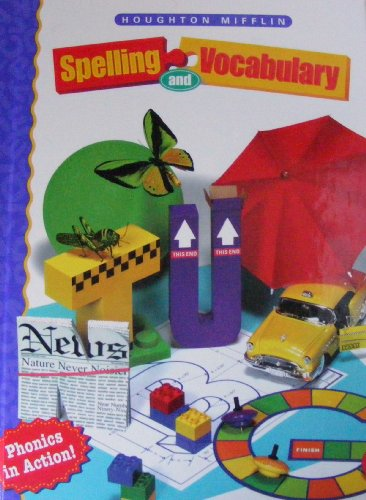 Houghton Mifflin Spelling: Hardcover Student Edition Continous Stroke Level 3 1998