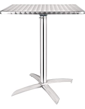 Stainless Steel Centre Table CK8172 Flat Packed Stainless Steel Centre Table W1200 x D700 x H850mm