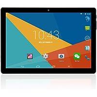 """Tablet PC 10 Pulgadas 2GB+32GB, 1280 × 800 IPS Llamada de teléfono 10.1 """"Tablets Android, 10.1 Pulgadas 3G Phablet con Doble Ranura para Tarjetas SIM y Doble cámara, WiFi, Bluetooth 4.0, GPS"""