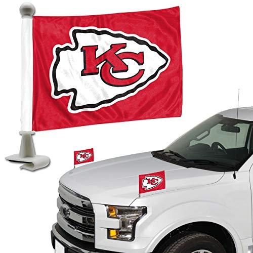 ProMark NFL Kansas City Chiefs Flag Set 2Piece Ambassador Stylekansas City Chiefs Flag Set 2Piece Ambassador Style, Team Color, One Size