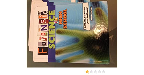 Forensic science for high school 2nd edition barbara ball deslich forensic science for high school 2nd edition barbara ball deslich 9780757544149 amazon books fandeluxe Images