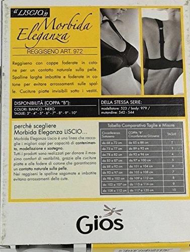 Nero REGGISENO MORBIDA ELEGANZA 972 GIOS XIwq85dq