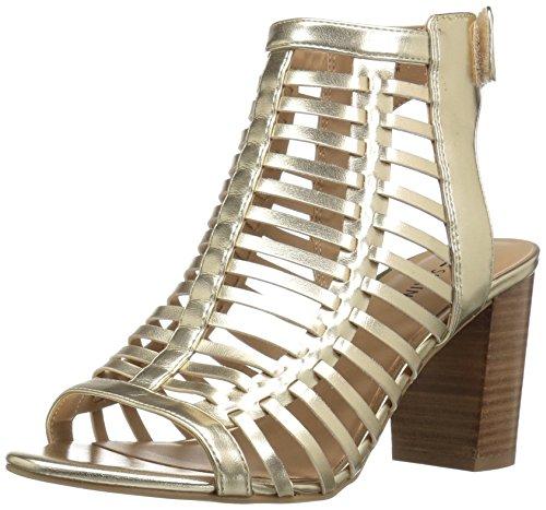 Call It Spring Womens Miriradia Heeled Sandal Gold 6BFxzm