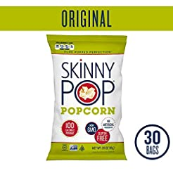 SKINNYPOP Original Popped Popcorn, 100 C...