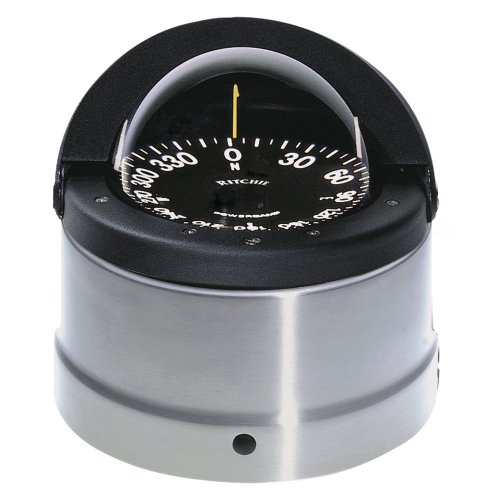 New Navigator Compasses ritchie Navigation Dnp-200 Binnacle Stainless Steel Card Flat Light - Compass Navigator Ritchie