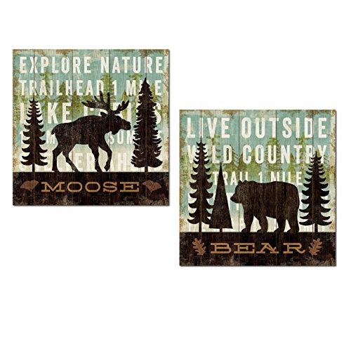 bear and moose decor - 3
