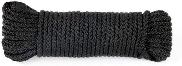 TU Concept/® 15 m noir T.O.E Drisse corde /Ø4 mm