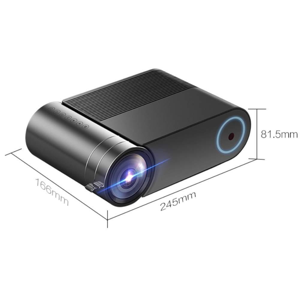 DHHZRKJ Mini proyector HD Proyector de LED Proyector de Cine en ...