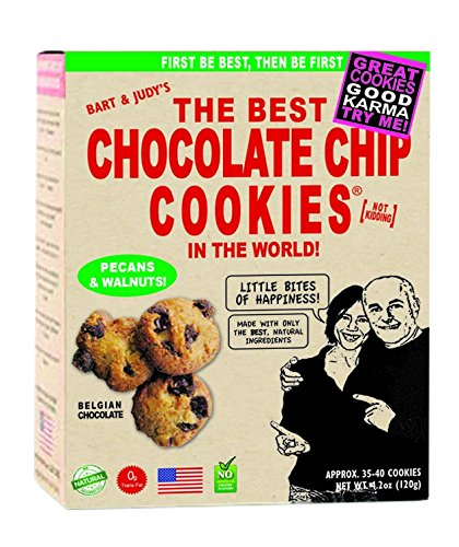Bart's Bakery The Best Chocolate Chip Cookies, Pecans/Walnuts In The World!, 4.2 Ounce