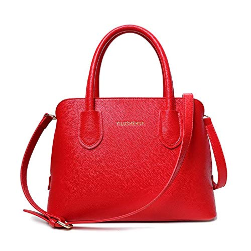 Bag Shoulder Fashion Hysh Europe The Messenger Women's Simple Shell Handbags Bag United Ladies Bridal States Red And qqP0nz