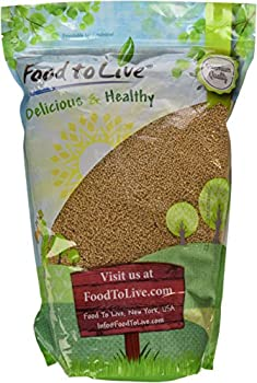 Food to Live Yellow Mustard Seeds (5 Pounds)