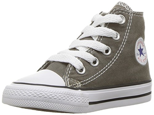 Converse Kids' Chuck Taylor All Star Canvas High Top Sneaker Charcoal
