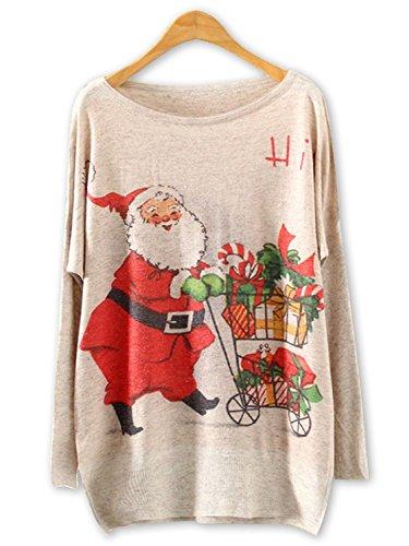 Persun Womens Christmas Sweatshirt Festival
