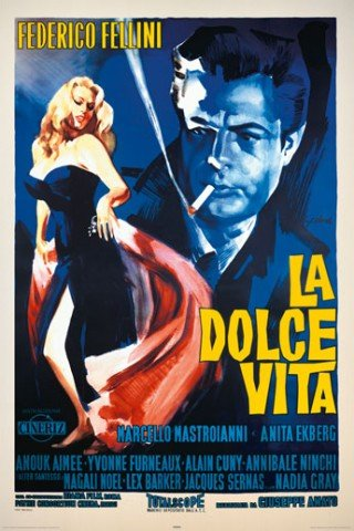 Posters: La Dolce Vita Poster - Anita Ekberg By Federico