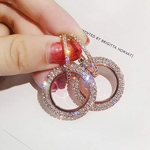 Celiy Earrings Women Rosegold