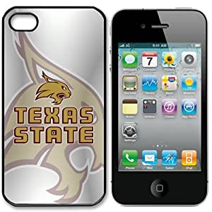 NCAA Texas State Bobcats Iphone 5 Case Cover by runtopwell