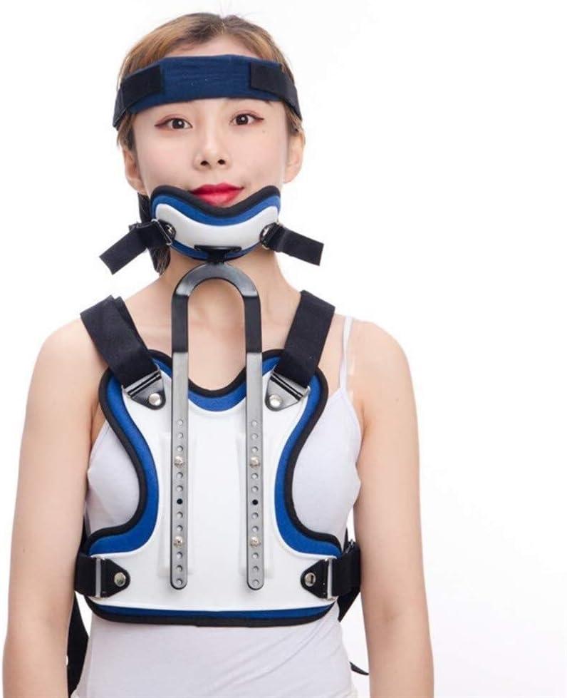 Órtesis Cervical Torácica, Vértebras de la columna vertebral Inmovilizador Tracción ajustable Postura de tratamiento Adecuado for la fijación de fracturas cervicales for la comodidad del paciente - Al