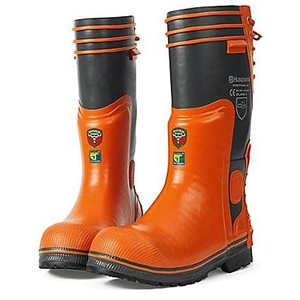 373aa82571318 Amazon.com : Husqvarna 505673448 Rubber Logging Boots, U.S. Size 14 ...