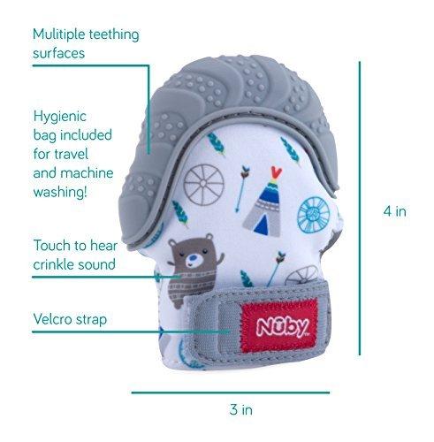 Soothing Teething Mitten and Ice Gel Teether Keys