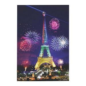 Black Temptation Puzzle Per Adultibambini 1000 Pezzi Torre Eiffel