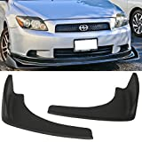 2012 camaro bumper lip - Front Bumper Lip Fits Universal Vehicles | Black PP Front Lip Finisher Under Chin Spoiler Add On by IKON MOTORSPORTS