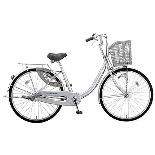 ミヤタ(MIYATA) シティサイクル 自転車 アルミスターU DAU60A8 (OS64) シャイニーシルバー B077NWYMSP