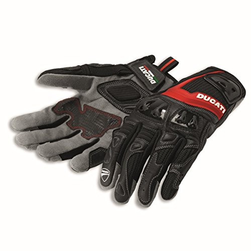 Ducati 981028277 Summer Textile Gloves - XXL