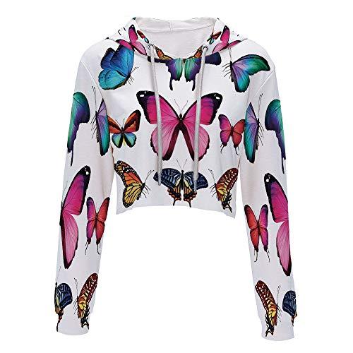 Sweatshirt Women 3D Pullover Sweatshirts L/XL MultiDifferent Size Collection of