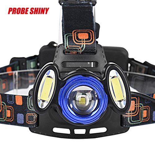 [Headlight,LandFox 15000Lm XML T6 LED Headlamp Rechargeable Headlight Head Torch Light Lamp] (Generator Head Assembly)