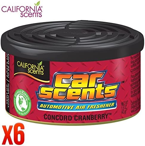 California Scents Ccs 646amazon 6 Stück Automotive Set Von 6 Auto