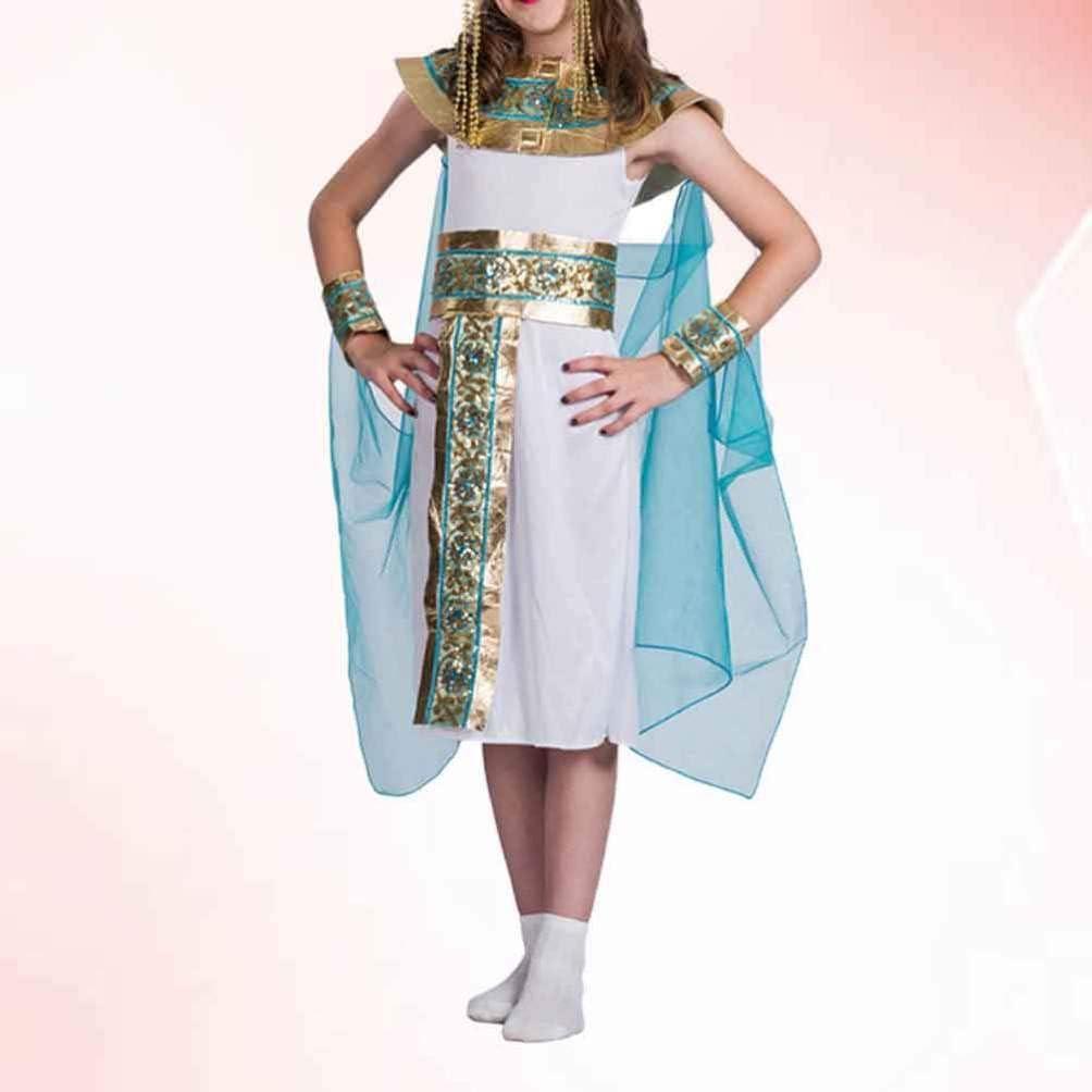 TOYANDONA Disfraz de Cleopatra para Niñas Disfraz de Princesa ...