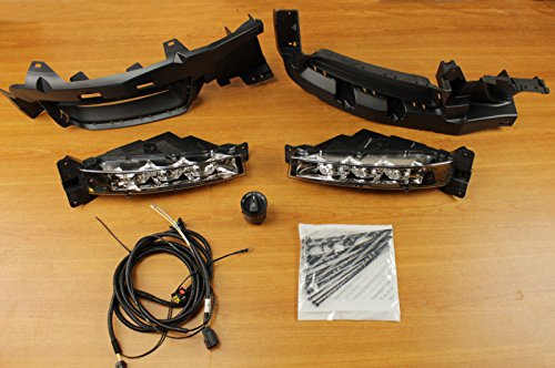 Dodge Charger Complete LED Fog Light Lamp Kit Mopar OEM ()