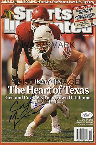 (Colt McCoy Sports Illustrated Autograph Replica Poster - Texas)