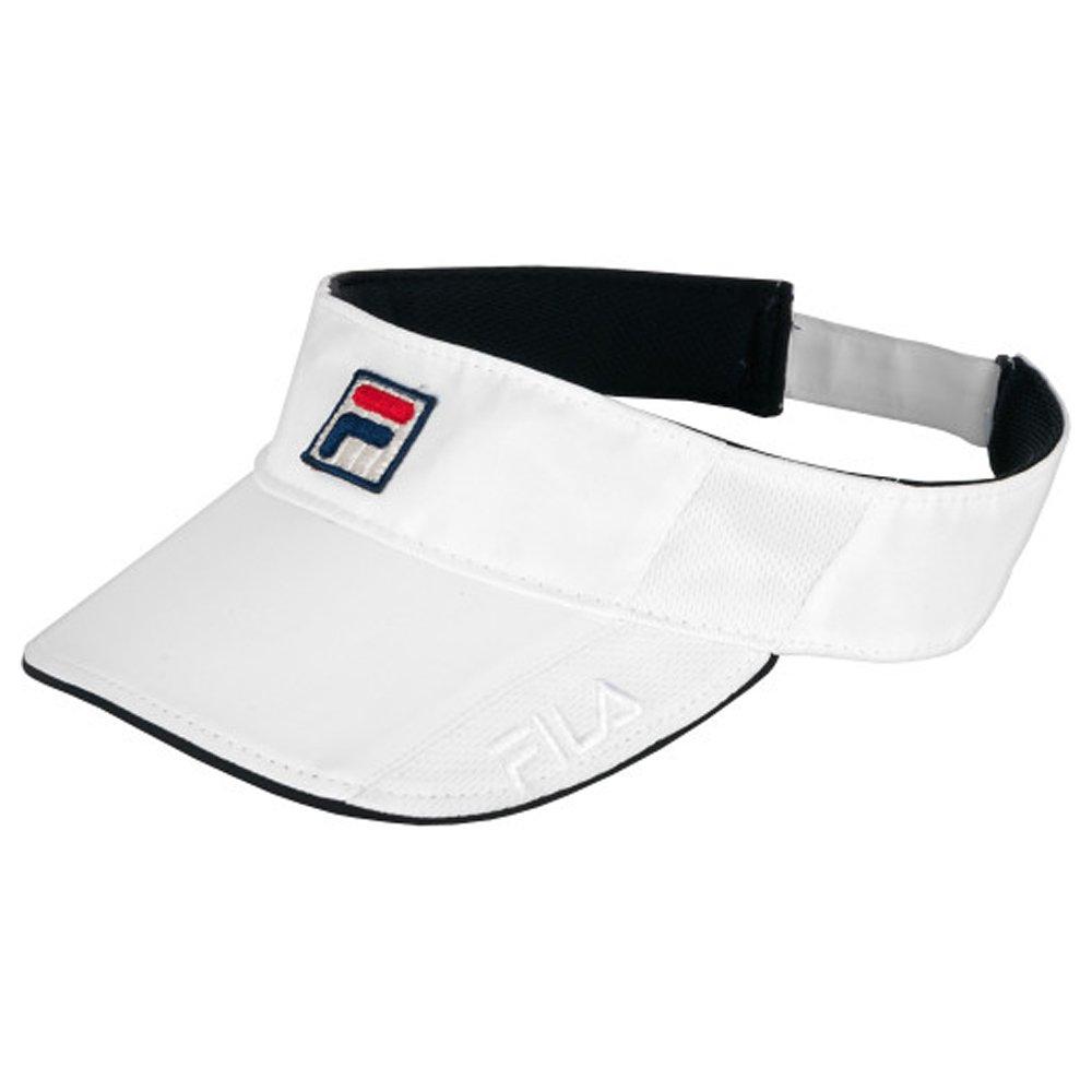 Women's Fila Performance Comfort Polyester Visor Hat-One Size-White