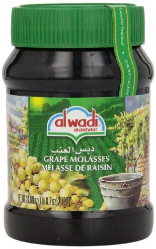 Alwadi Al Ахдар виноградные патока, 24.69-унция банок (в упаковке 3)