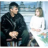 Stargate Richard Dean Anderson with daughter on bookcase 8 x 10 Inch photo