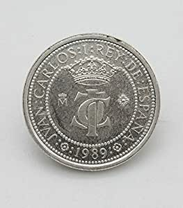 Moneda de Plata de 200 Pesetas de 1989. Moneda Conmemorativa del ...