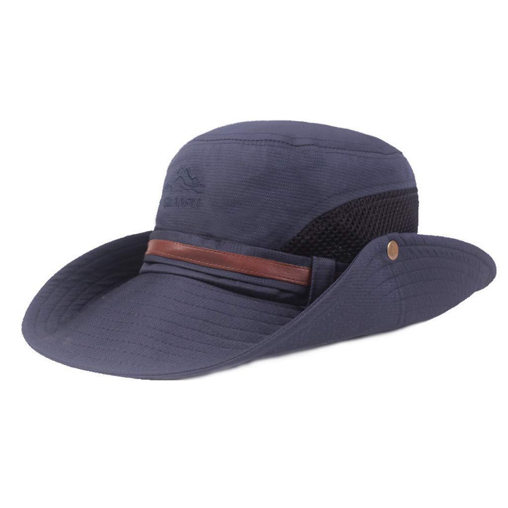 MINXINWY_ Gorras de béisbol de Hombre Verano, Sombrero para el Sol ...