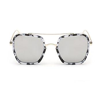 Wmshpeds Männer und Frauen Sonnenbrille, Mode Zustrom von Menschen, Sonnenbrille, große Gläser