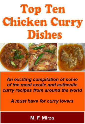 Chicken Curry Dishes Top Ten Recipes Kindle Edition By M F