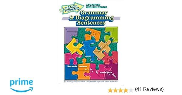 Amazon.com: Grammar & Diagramming Sentences (Advanced Straight ...