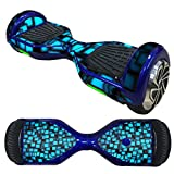 Anboo 2 wheels Protective Vinyl Skin Decal for 6.5IN Model Self Balancing Scooter Hoverboard