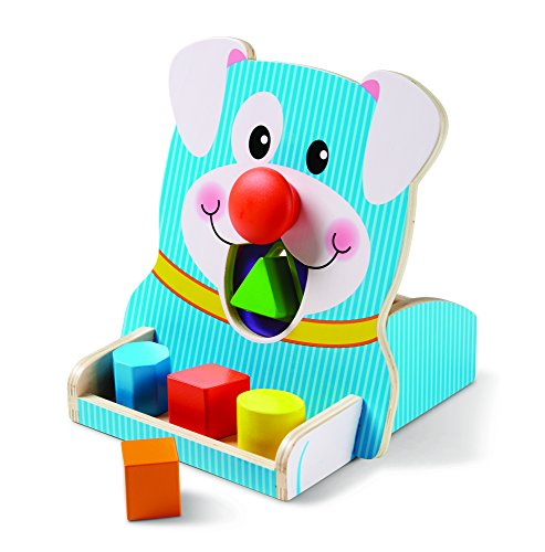 Melissa & Doug Spin & Feed Shape Sorter Baby Toy, Multi by Melissa & Doug