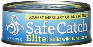 Safe Catch Elite Wild Tuna, 12 Count