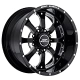 BMF Wheels Novakane Death Metal Black - 20 x 9 Inch Wheel