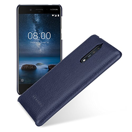 TETDED Premium Genuine Leather Case for Nokia 8,...