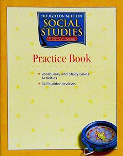 Houghton Mifflin Social Studies Practice Book