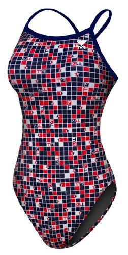 TYR Women's USA 2012 Olympics Diamondback Print Swimsuit