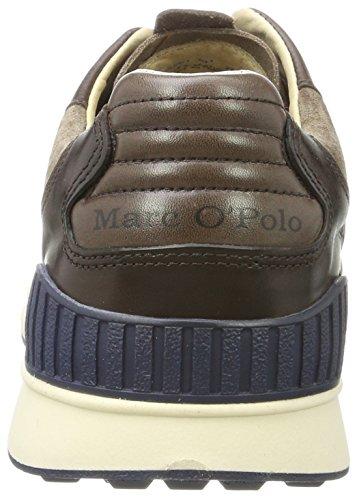 Marc Homme Marron 70723733501301 Baskets Foncé Sneaker O'Polo wwx8Cqg