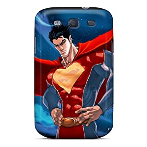 Scratch Protection Hard Phone Cover For Samsung Galaxy S3 With Provide Private Custom Attractive Superman Image CharlesPoirier